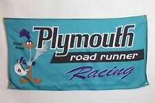 Plymouth Road Runner Flag ~ mopar charger v8 hemi muscle car superbird f body v6