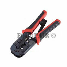 Professional Network Ethernet LAN Phone Crimper Crimp Tool CAT5e/6 RJ45/12/11