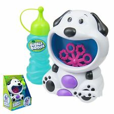 Dog Bubble Machine Blower Solution Birthday DJ Disco Party Bubbles Garden Toy