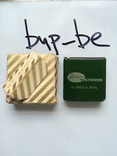 Vintage Tool!  Spruance Fine Finishes For Wood And Metal Tape Measure!