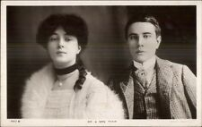 Beautiful Actress Evelyn Newbit Mr & Mrs Thaw c1915 Real Photo Postcard dcn