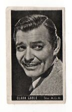 Clark Gable 1947 Kwatta Film Stars Belgium Chocolate Card #87