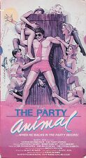 THE PARTY ANIMAL (VHS) 1983 SEX COMEDY BUZZCOCKS SOUNDTRACK PONDO SINATRA