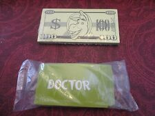 Replacement Shrek Operation Game Money Cards Donkey New In Plastic 2 Packs