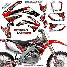 2006 2007 CRF 250R GRAPHICS KIT CRF250R 250 R DECO STICKER DECALS 4-STROKE SENGE