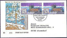 BRD 2000: Zugspitze! FDC n. 2127 in coppia con Bonner timbro speciale andato!!