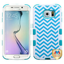 For Samsung GALAXY S6 / Edge / Plus + HYBRID Shockproof Rubber Case Phone Cover