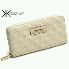 new KARDASHIAN KOLLECTION CLASSY FASHION WOMEN PURSE - WALLET WHITE