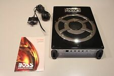 "BOSS BASS800 8"" AMPLIFIED SUBWOOFER CAR STEREO SUB TUBE BOX AMP THIN ENCLOSURE"