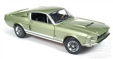 1967 Ford Mustang Shelby GT500 Lt Green 1:18 Auto World 993