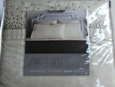 New Jennifer Lopez JET SETTER Size: QUEEN Cotton 4PC Sheet Set Белье Постельное