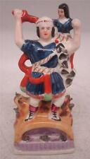Staffordshire Pottery Figure - 'Rolla' Circus Strongman