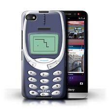 Stuff4 Hülle/Case für Blackberry Z30/Blaues Nokia 3310/Vintage Handys