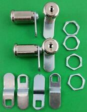 RV Trailer Motorhome Storage Compartment Door Cam Lock Set Of 4 Four 18-3319