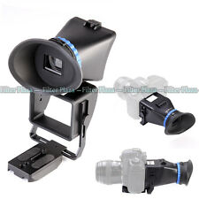"""Foldable Universal LCD 3X Viewfinder for 3.0""""3.2"""" Screen Canon Nikon DSLR Camera"""