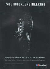 "Berghaus ""Outdoor_Engineering"" Shoes/Boots 1999 Magazine Advert #4071"