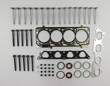 HEAD GASKET SET BOLTS 16 VALVES BORA GOLF LUPO POLO LEON TOLEDO 1.6 16V 1998-06