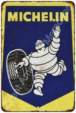 Michelin Tires Vintage Look Reproduction Metal Sign 8x12 8122496