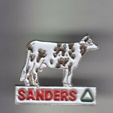 RARE PINS PIN'S .. AGRICULTURE VACHE COW KUH ELEVAGE LAIT SANDERS FRANCE 2 ~CK