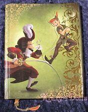 Disney Designer Fairytale Doll Heros VS Villains Peter Pan &Captain Hook Journal