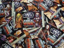 TOPPS Force Attax CLONE WARS - Serie 3 - 50 Booster, Tüten, 250 Karten STAR WARS