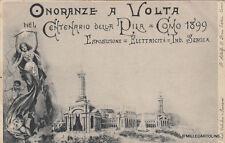 * COMO - Esposizione 1899 - I° Centenario Invenzione Pila - Onoranze a Volta (1)