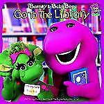 Barney & Baby Bop Go To The Library Lyrick, Publishing Library Binding