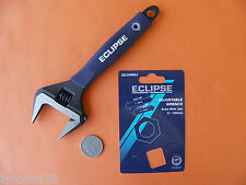 "EXTRA WIDE DEEP JAW SHIFTER ADJUSTABLE WRENCH 8"" / 200mm ECLIPSE SHEFFIELD"