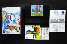 THE KING OF FIGHTERS 98 KOF +reg.card SNK Neo Geo AES Very.Good.Condition JAPAN
