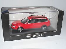 Audi A6 C5 4B Avant rot rouge rosso red, Minichamps #430 017110 in 1:43 boxed!