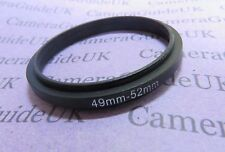 49-52mm 52mm-49mm Male to Male Double Coupling Ring reverse macro Adapter 49-52