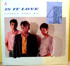 """GANG OF 4 - Is It Love / A Man With A Good Car +1 - 45rpm UK 12"""" Club single"""