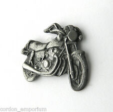 HONDA PEWTER MOTORCYCLE BIKER BIKE LAPEL PIN BADGE 3/4 INCH