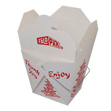 100 Chinese / Asian Take Out Boxes Food Pail One ( 1 )  Pint  Container
