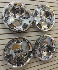 "2005-2007 DODGE MAGNUM CHARGER 17"" Bolt-on Hubcaps Wheelcover SET of 4 CHROME"