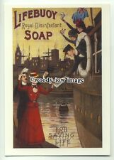 ad3739 - Lifebuoy Royal Disinfectant  Soap - Modern Advert Postcard
