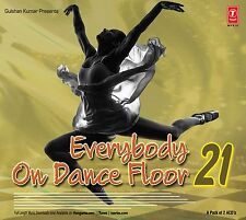 Everybody On Dance Floor 21 - 2016 Bollywood New Remix Songs 2 Audio Cd Set