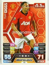 Match Attax 2013/14 Premier League - #193 Ryan Giggs - Manchester United