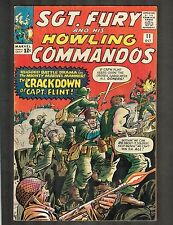Sgt Fury and his Howling Commandos #11 ~ Kirby Cvr ~ 1964 (6.5) WH