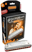 Hohner Golden Melody Harmonica, Key of G, Brand New In Box