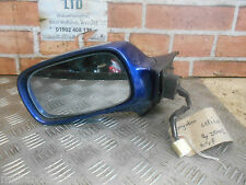 TOYOTA CELICA ZZT23 2002 NS PASSENGER SIDE ELECTRIC DOOR WING MIRROR BLUE