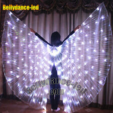 LED isis wings for sale 182 lights rechargeable belly dance dancing show sticks