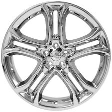 "22"" Wheels For Ford Edge Explorer Flex Lincoln MKT Chrome 22x9 Inch Rims Set 4"