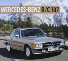 BOEK/LIVRE : MERCEDES BENZ SL  R/C 107 (280,450 slc,380,560, W 107,oldtimer