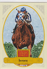 SECRETARIAT 1973 Triple Crown KENTUCKY DERBY Horse Racing GOLDEN AGE CARD
