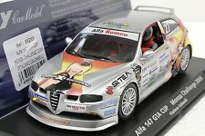 FLY 88259 ALFA 147 GTA CUP CAR MONZA 2004 NEW 1/32 SLOT CAR IN DISPLAY CASE