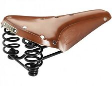 Brooks Flyer Classic Sprung Suspension Spring Saddle Honey Leather Bicycle