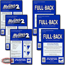 150 - E. GERBER FULL-BACK & MYLITES 2 STANDARD Mylar Bags & Boards! 700FB/725M2