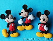 MICKEY MOUSE - Disney Children Boy Animals Dress It Up Craft Buttons