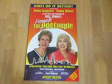 FEMALE Odd Couple  Paula Wilcox & Jenny Seagrove  APOLLO Theatre Original Poster